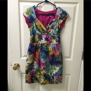 Nanette Lepore Gorgeous Colorful Dress Sz 2